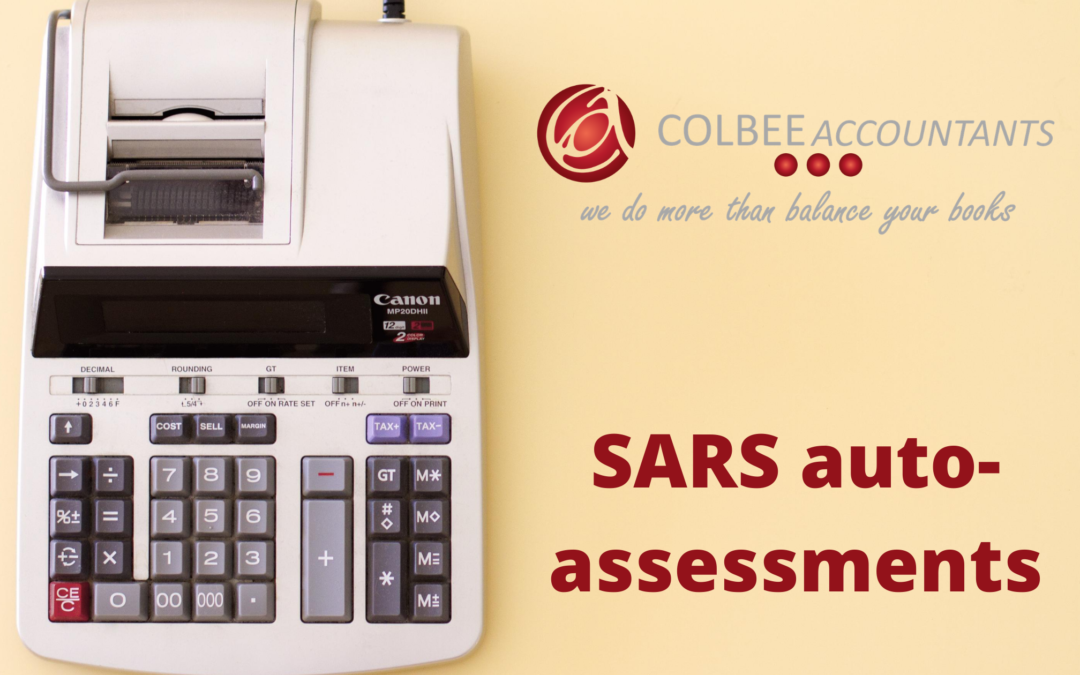 SARS auto assessment